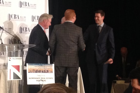 JOHN DOLAN WINS CBA CREATIVE OFFICE DEAL OF THE YEAR